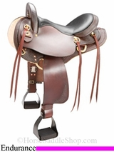 "15.5"" - 16.5"" The Tennessean Endurance Saddle 6710"