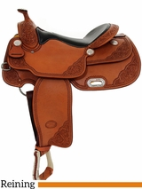 "** SALE ** 15"" to 17"" Billy Cook VC Reiner Saddle 9603"