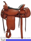 "15.5"" 16"" Billy Cook Western Trail Saddle 1783"
