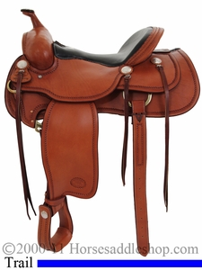 Western Saddle for the Trails by Billy Cook 16inch or 15.5inch 10-1783
