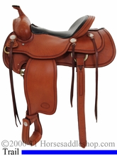 "15.5"", 16"" Billy Cook Western Trail Saddle 1783"