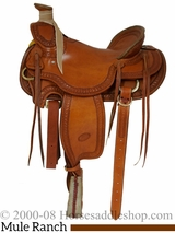 "15.5"" 16"" Billy Cook Wade Ranch Mule Saddle 2285"