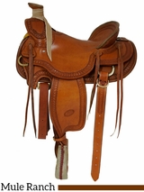 "** SALE ** 15.5"" 16"" Billy Cook Wade Ranch Mule Saddle 2285"