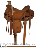 "15.5"", 16"" Classic Billy Cook Wade Rancher Mule Saddle 10-2285"