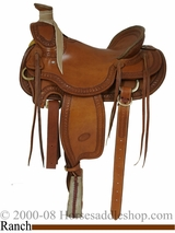 "15.5"", 16"" Billy Cook Wade Ranch Mule Saddle 2285"