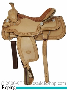 15.5inch 16inch Genuine Billy Cook Arena Roping Saddle