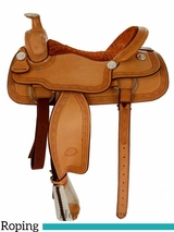 "15"" to 17"" Billy Cook Roping Saddle 2121"