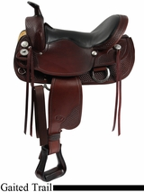 "15.5"" to 17.5"" The Tennessean Supreme Trail Saddle 2212"