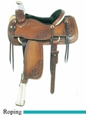 "15.5"" American Saddlery MasterCraft Running W Pro Roper Saddle am110-1"