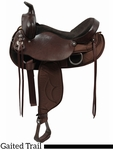 "15.5"" 16.5"" Tennessean Lady Trail Saddle Gaited/Cordura 6398"