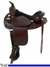 "15.5"" Big Horn Trail Saddle 1579"