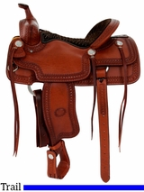 "15.5"" to 17"" Billy Cook Porter Trail Saddle 1837"