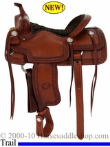 "15.5"" 16"" Billy Cook Porter Trail Saddle 1837"