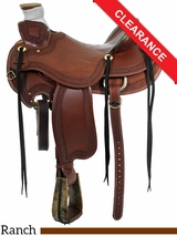 "16"" Circle Y Elko Ranch Saddle 1343 CLEARANCE"