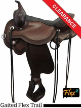 "SOLD 2016/06/02 16"" Circle Y Julie Goodnight Blue Ridge Flex2 Gaited Trail Saddle 1751 CLEARANCE"