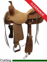 "SOLD 2016/06/10 15.5"" Circle Y Xtreme Performance Dodge Cowhorse Ranch Sorter Saddle 1389 CLEARANCE"