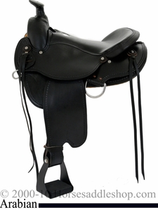Dakota Arabian Trail Saddle