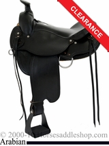"15.5"" Dakota Arabian Trail Saddle 5320"