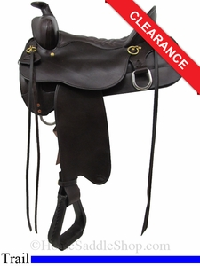 "NO LONGER AVAILABLE 15.5"" High Plains Tucker Trail Saddle 260"