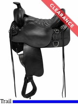 "15.5"" High Plains Tucker Trail Saddle 260 CLEARANCE"