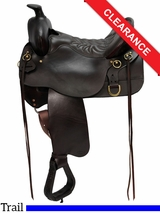 "SOLD ON LAYAWAY 2016/04/30 15.5"" High Plains Tucker Trail Saddle 260 CLEARANCE"