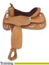 "15.5"" to 16.5"" Royal King Roughout Training Saddle 1955 1965"