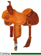 "15.5"" to 17"" Reinsman Ranch Cutter Saddle 4822"