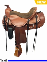 "15.5"" to 18.5"" Tucker Dead Wood Trail Saddle 282 w/Free Pad"