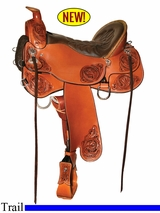 "15.5"" to 18.5"" Tucker Limited Edition Trail Saddle L15"