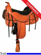 "15.5"" Tucker Dead Wood Trail Saddle 282 CLEARANCE"