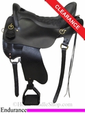 "15.5"" Tucker Endurance Trail Saddle, Extra Wide 159"