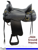 "15.5"" Tucker Gen II High Plains 262 Trail Saddle, Wide Tree, Exclusive ustk3097 *Free Shipping*"