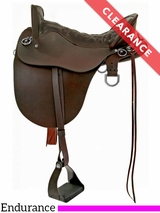 "15.5"" Tucker River Medium Plantation Saddle 146 CLEARANCE"