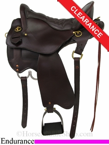 "15.5"" Tucker Vista Endurance Trail Saddle 153"