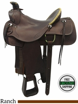 SOLD 2016/01/28 15.5 Used Continental Pullman Wide Ranch Saddle 1558 *Free Shipping*
