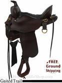 "SOLD 2014/07/15 $1499 15.5"" Used Tucker Gaited Trail Saddle ustk2851 *Free Shipping*"