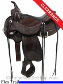 "15"" Circle Y Julie Goodnight Wind River Flex2 Trail Saddle 1750"