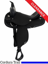 "15"" Abetta Original Nylon Trail Saddle 20501 CLEARANCE"