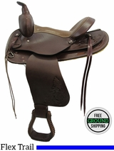 """SOLD 2016/03/30 PRICE REDUCED - New 15"""" American Saddlery 524 Flex Trail Saddle usam3135 *Free Shipping*"""