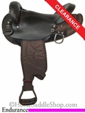"15"" Big Horn Center Fire Endurance Saddle 120"