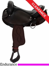 "SOLD 2016/10/26  15"" Big Horn Center Fire Endurance Saddle 120 CLEARANCE"