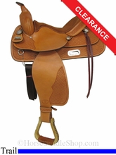 "15"" Big Horn Pleasure Trail Saddle 1569"