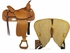 "SOLD 2014/09/28 $712 15"" Big Horn Pleasure Trail Saddle 1569"