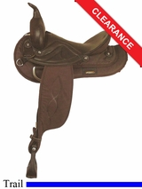"17"" Big Horn Sof-Tee Riders Saddle 607"