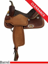 "15"" Billy Cook Barrel Racing Saddle 1530 CLEARANCE"