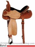 "15"" Cactus Saddlery Barrel Saddle scabrl"
