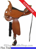 "15"" Circle Y Kenny Harlow Complete Competitor Grainout Flex2 Trail Saddle 5626"