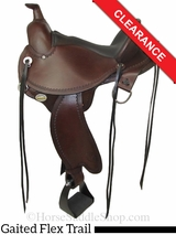 "15"" Circle Y Kentucky Flex2 Trail Gaiter Saddle 1582 CLEARANCE"