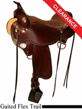 "15"" Circle Y Missouri Flex2 Gaited Trail Saddle 1589"