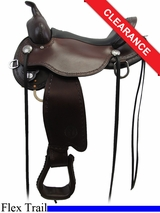 "16"" Circle Y Salt River Flex2 Trail Saddle 1667"